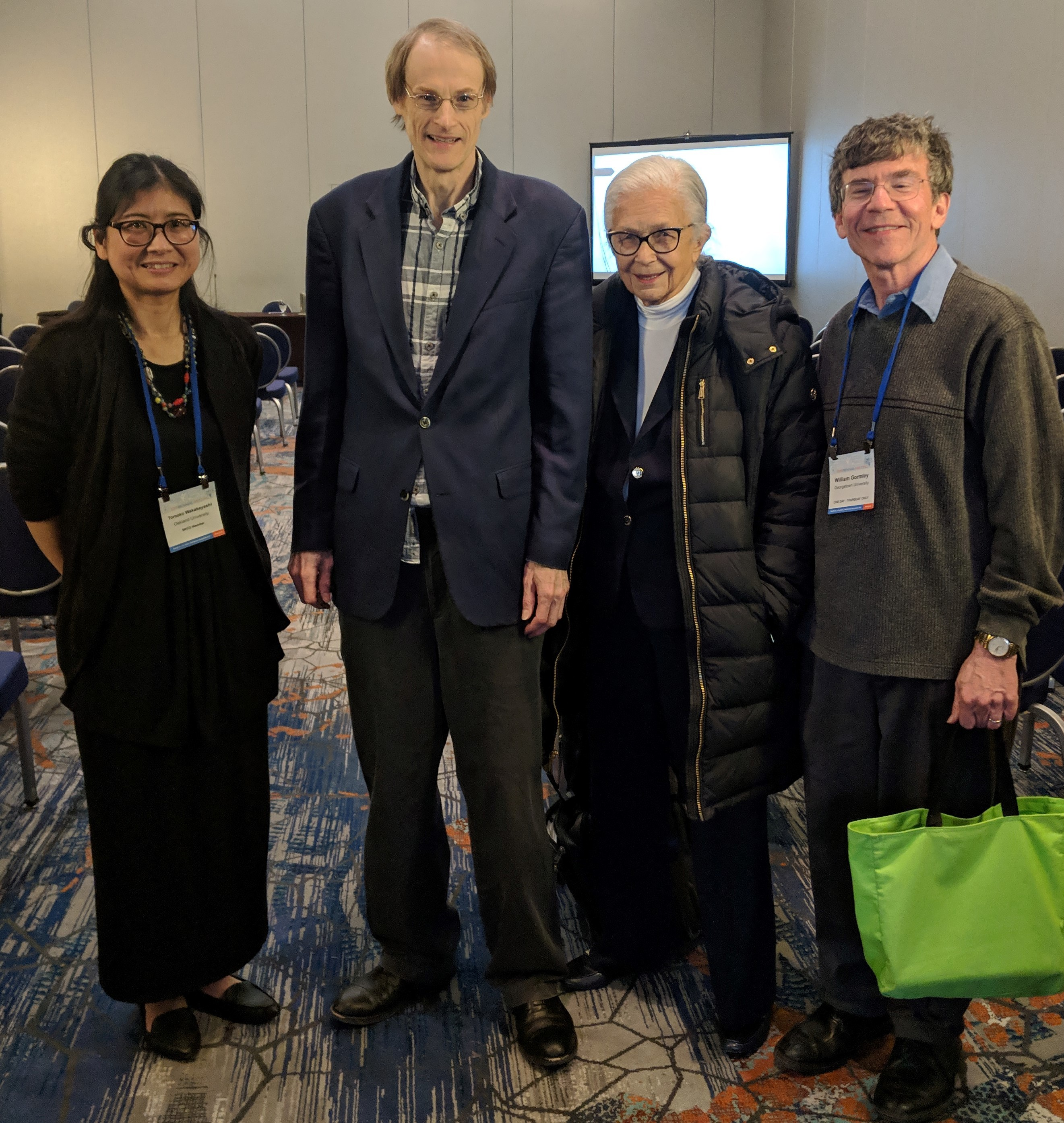 speakers at SRCD symposium on Sustaining Early Childhood Gains